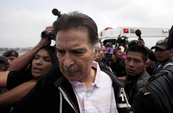 Former Guatemalan President Alfonso Portillo extradited to U.S.