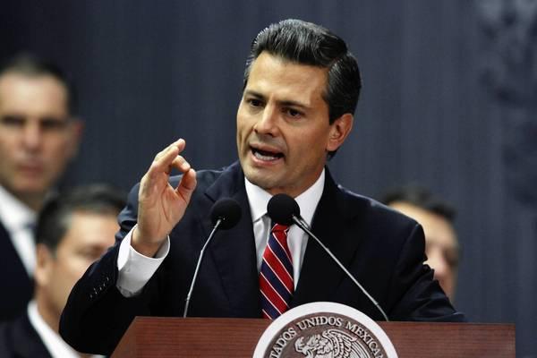 Enrique Pena Nieto unveils fiscal reform plan