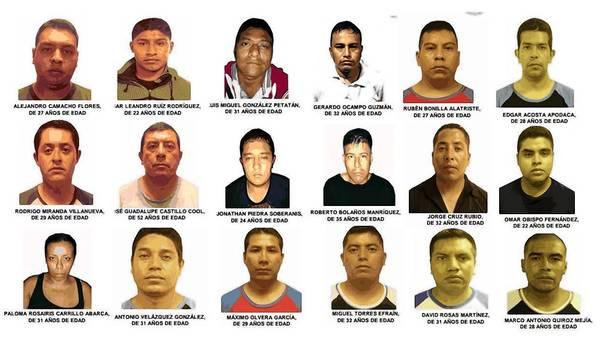Mexico kidnapping suspects