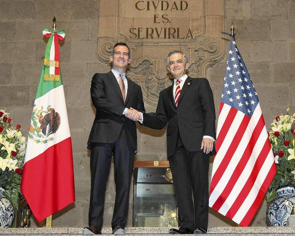 L.A. and Mexico City mayors meet